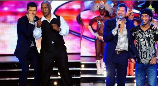 Arrancó Bailando 2011 con Tyson y Ronaldinho