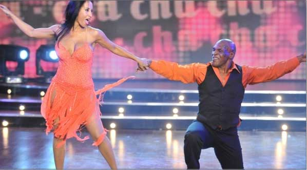 Mike Tyson and Pamela Anderson in dancing with the stars in Argentina