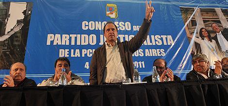 El PJ bonaerense oficializa su apoyo a Cristina y a Scioli