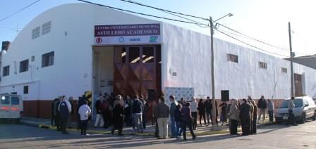 San Fernando ya cuenta con un Astillero Escuela