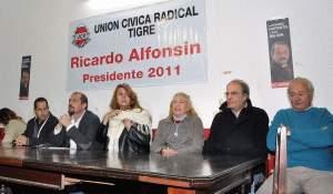 Los radicales de Tigre lanzaron la campaña Alfonsín 2011
