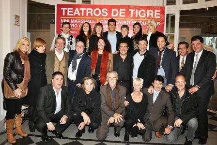 Tigre lanzó su programación teatral 2011