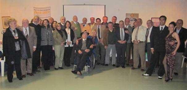 Integrantes del Rotary de Boulogne