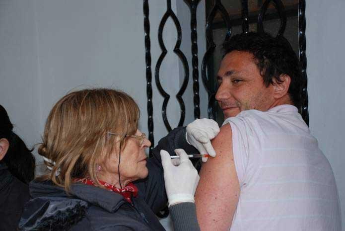 Más de 40 mil vacunados en la campaña antigripal en San Isidro