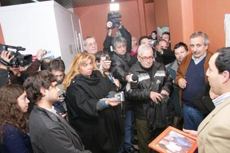 Emotivo reconocimiento del municipio de San Fernando a Ernesto Concini