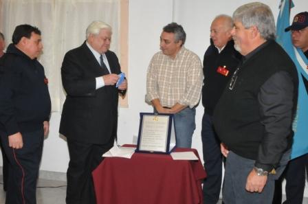 Inauguración y homenaje en el Cuartel de Bomberos Voluntarios de Benavídez