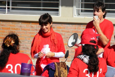 Con la presencia de Carla Conte, se realizó en Troncos del Talar una nueva jornada de difusión del deporte