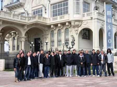 Los campeones mundiales y olímpicos de handball en Tigre