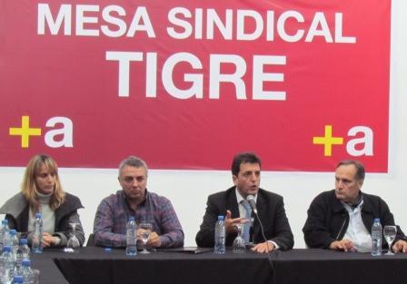 Se reunió la mesa sindical en el Consejo del PJ de Tigre