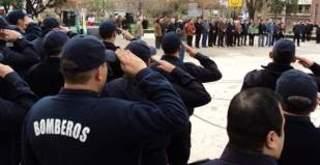 Homenajearon a los bomberos voluntarios de San Martín