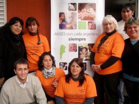 Nuevo operativo de Renacer y Anses en San Isidro