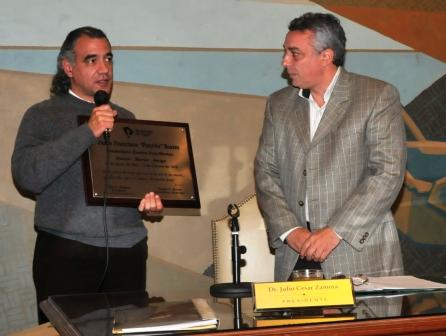 """El Padre """"Pancho"""" Soares, fue declarado Ciudadano Ilustre Post Mortem de Tigre"""