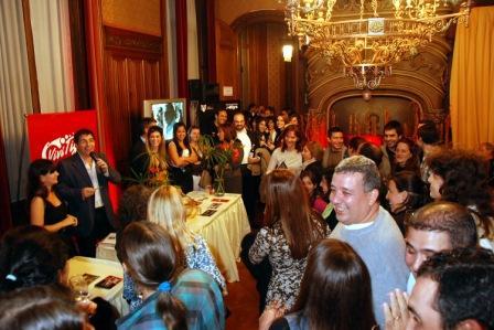 Tigre de fiesta en Cuisine & Vins 2011