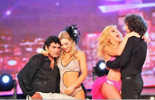 Locomotora Castro fue eliminado de Bailando 2011