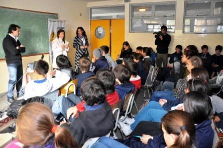 Talleres de conducta vial en las escuelas de Tigre