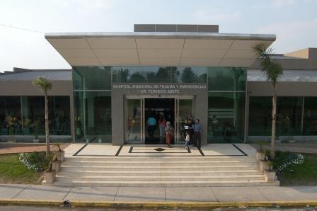 Hospital de Trauma y Emergencias Dr. Federico Abete del partido de Malvinas Argentinas