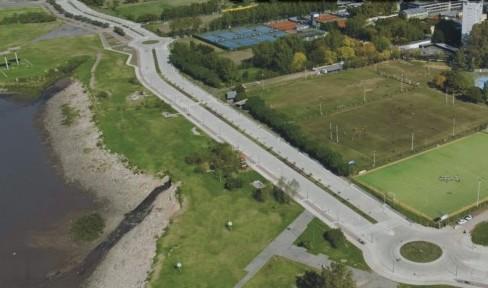 Con incidentes y algunas personas demoradas inauguraron el vial costero de Vicente López
