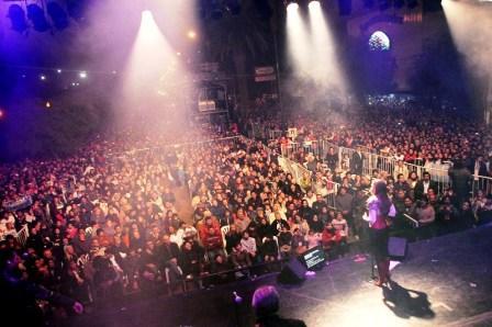 Más de 30 mil personas festejaron en Garín junto a Soledad
