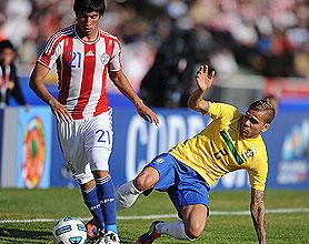 Brasil le empató a Paraguay con el tiro del final en un intenso encuentro