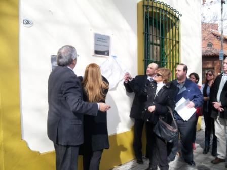 Homenaje al Dr. Pericoli en San Fernando