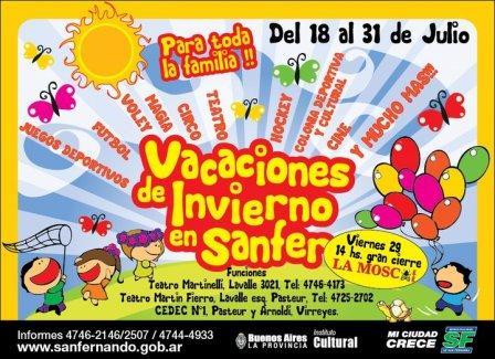 Vacaciones de invierno 2011 en San Fernando