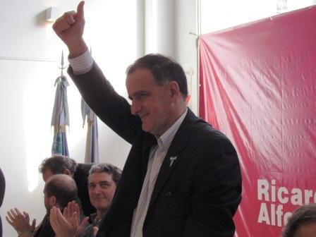 candidato a Intendente por el UDESO, Norberto Erro