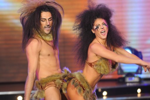 Bailando 2011: Erika Mitdank y Adabel Guerrero brillaron en el Axé