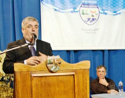 Das Neves se presentó en Malvinas Argentinas con fuertes críticas al gobierno nacional