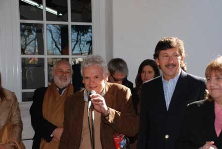 El intendente de San Isidro, Dr. Gustavo Posse, inauguró oficialmente el primer Museo del Juguete de la Argentina