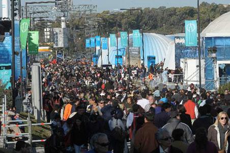 Más de 300.000 personas ya visitaron Tecnópolis