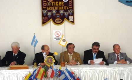 Asumió el nuevo presidente en el Club de Leones de Tigre