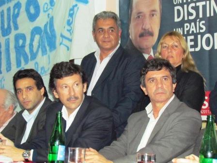Andrés Sánchez quien estuvo acompañado por el intendente de San Isidro, Gustavo Posse