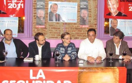 UDESO presentó lista y candidato a intendente en Tigre