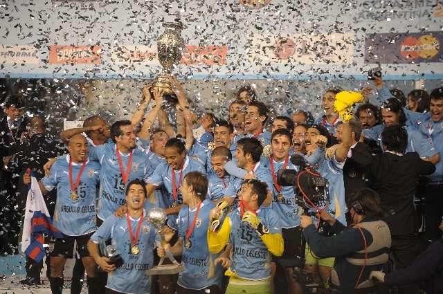 Uruguay mostró hasta el final solidez como equipo y volvió a conquistar la Copa America
