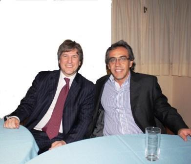 Sandro Guzmán compartió reuniones estratégicas con Boudou y De Vido