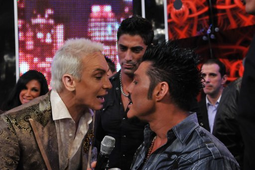 Ricardo Fort le pegó una trompada a Flavio Mendoza