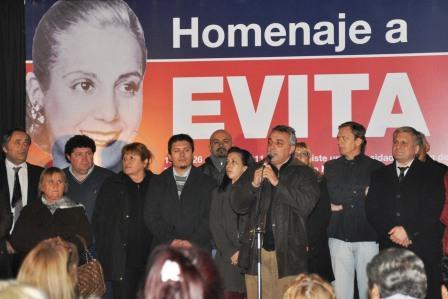 El PJ de Tigre rindió un nuevo homenaje a Evita