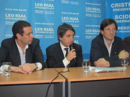 El Subsecretario de Seguridad provincial, Guido Lorenzino