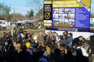 Scioli inauguró planta de biodiesel en Pilar