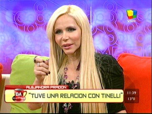Alejandra Pradón sorprendió al revelar que fue amante de Marcelo Tinelli