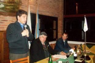 Jorge Macri se reunió con el Rotary de Vicente López