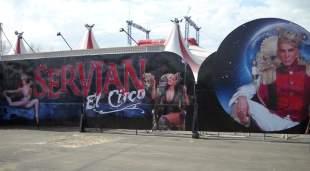 Inspeccionan el Circo Servian de Flavio Mendoza y encuentran serias irregularidades