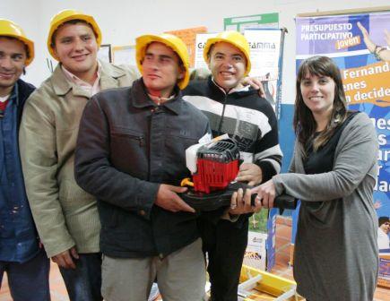 Los proyectos del Presupuesto Participativo Joven 2010/2011 comienzan a hacerse realidad