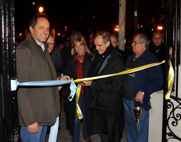 Inauguraron la sede de servicios sociales en la Catedral en San Isidro