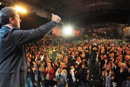 Sergio Massa lanzó su candidatura para un segundo mandato en Tigre