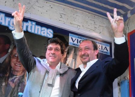 Mariotto junto a Vivona