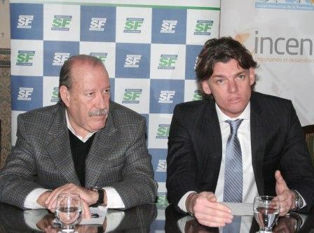 Amieiro y Nicolás Scioli presentaron el Concurso IncentiBA y la Agencia de Inversiones del Grupo BAPRO