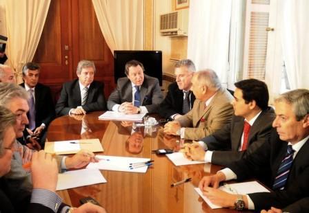Diputados de diferentes bloques recibieron al ministro Casal