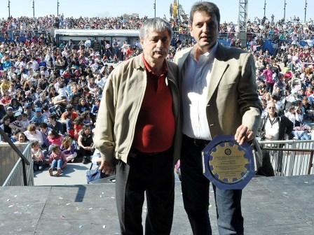 Massa celebró con los trabajadores metalúrgicos en el Parque de la Costa