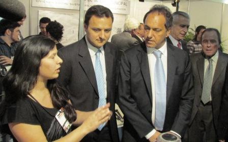 Firme respaldo de Scioli a Daniel Ivoskus en la apertura de EPSAM